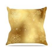 KESS InHouse Snap Studio Golden Radiance Throw Pillow; 20'' H x 20'' W x 4'' D