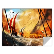 ArtWall ArtApeelz 'Old Times 2' by Luis Peres Graphic Art Removable Wall Decal