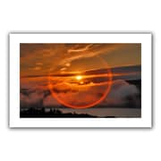 ArtWall Circle Around Sun' by Steven Ainsworth Photographic Print on Rolled Canvas; 36'' H x 52'' W
