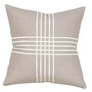 Thom Filicia Home Collection Criss-Cross Throw Pillow; Greer Linen