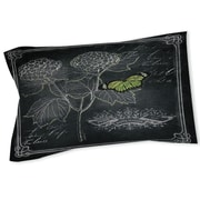 Thumbprintz Chalkboard Botanical 1 Sham; Queen/King
