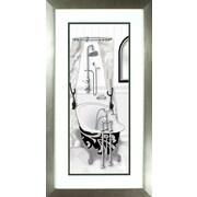 PTM Images Venetian Tub Framed Graphic Art