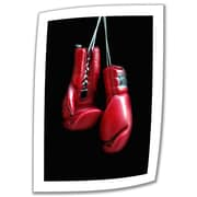 ArtWall 'Red Gloves' by Dan Holm Photographic Print on Canvas; 22'' H x 16'' W