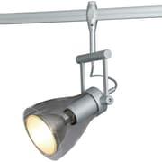 Bruck Zod 1-Light Spot Track Light; Matte Chrome