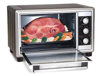 Elite by Maxi-Matic Elite Cuisine 6 Slice Toaster Oven Broiler w/ Rotisserie WYF078277262370