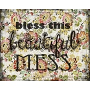 Evive Designs 'Beautiful Mess' by Jennifer Lee Textual Graphic Art