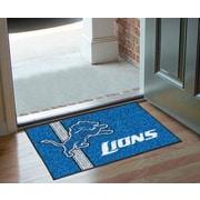 FANMATS NFL Detroit Lions Uniform Inspired Starter Doormat