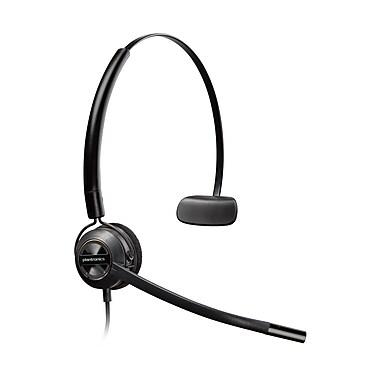 Plantronics – Casque d'écoute polyvalent Encorepro Hw540 pour le service à la clientèle, (HW540-88828-01)