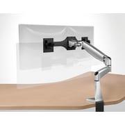 Workrite Ergonomics Poise Twin Monitor Arm; Silver