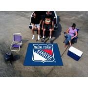 FANMATS NHL - New York Rangers Tailgater Mat; 5' x 8'