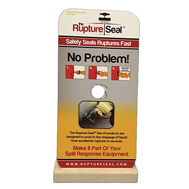 RuptureSeal Display Stand, 10/Pack