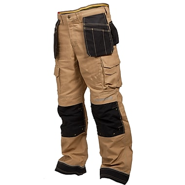 Terra Heavy Duty Canvas Work Pant, Tan, 34/32