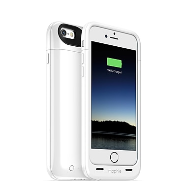 Mophie – Juice Pack Plus (4,7 po, 3300 mAh) pour iPhone 6, blanc