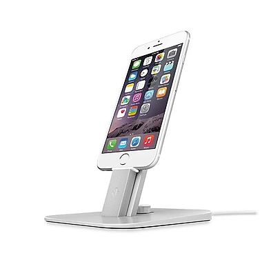 Twelve South HiRise Deluxe Stand for iPhone and iPad, Silver