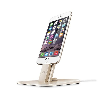 Twelve South HiRise Deluxe Stand for iPhone and iPad, Gold