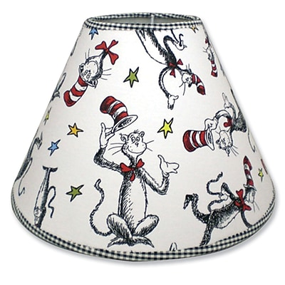 Trend Lab Dr. Seuss Cat in the Hat 7'''' Cotton/Polyester Empire Lamp Shade