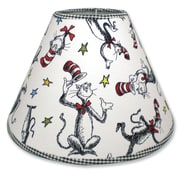Trend Lab Dr. Seuss Cat in the Hat 7'' Cotton/Polyester Empire Lamp Shade