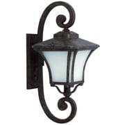 Yosemite Home Decor Borrego Outdoor Wall Lantern; 22'' H x 9'' W x 12'' D