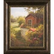 Ashton Wall D cor LLC Ashton Art & D cor Summer House Framed Painting Print