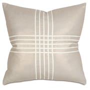 Thom Filicia Home Collection Criss-Cross Throw Pillow; Reflection Gold