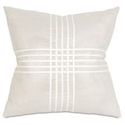 Thom Filicia Home Collection Criss-Cross Throw Pillow; Reflection Frost