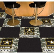 FANMATS MIL U.S. Air Force Team Carpet Tiles; Army