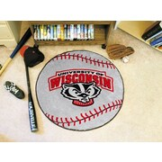 FANMATS NCAA University of Wisconsin Baseball Mat