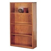 High Point Furniture Forte 65'' Standard Bookcase; Honey Cherry