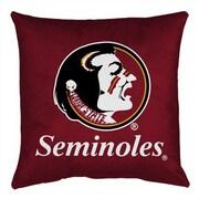Sports Coverage NCAA Florida State Throw Pillow
