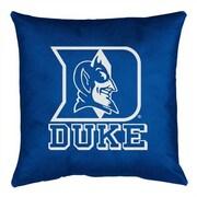 Sports Coverage NCAA Duke Throw Pillow