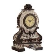 Woodland Imports Ceramic Table Clock; Grey