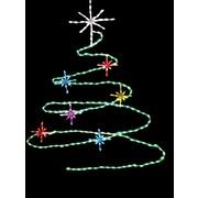 Brite Ideas Spiral Christmas Tree LED Light