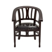 Woodland Imports Polished Arm Chair