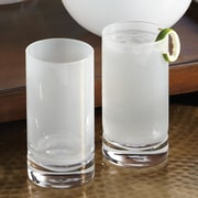 Studio A Bar ware Lab Highball Glass (Set of 4); Opaline White