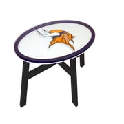 Fan Creations NFL End Table; Minnesota Vikings