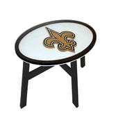 Fan Creations NFL End Table; New Orleans Saints