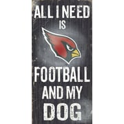 Fan Creations NFL Football and My Dog Textual Art Plaque; Arizona Cardinals