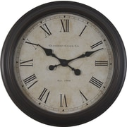 Decor Therapy 18'' Global Glenmont Wall Clock
