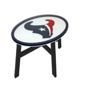 Fan Creations NFL End Table; Houston Texans