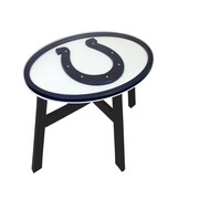 Fan Creations NFL End Table; Indianapolis Colts