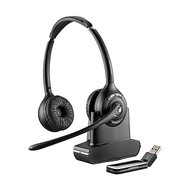 Plantronics W420 Over-The-Head Binaural USB Wireless Headset