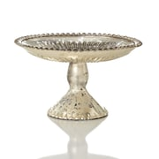 Sage & Co. Chalet Cake Plate on Cake Stand; 8'' H x 4'' W x 4'' D