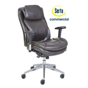 Serta at Home Series 200 Puresoft  High-Back Task Chair; Brown