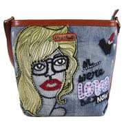 Nicole Lee Jodie Blonde Messenger Bag