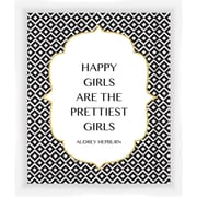 PTM Images Quote Giclee Print by Audrey Hepburn Framed Textual Art