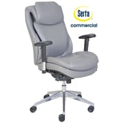 Serta at Home Series 200 Puresoft  High-Back Task Chair; Grey