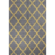 Bashian Rugs Rajapur Gray & Gold Area Rug; 7' x 9'