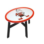 Fan Creations NFL End Table; Cleveland Browns