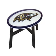 Fan Creations NFL End Table; Baltimore Ravens