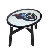 Fan Creations NFL End Table; Tennessee Titans